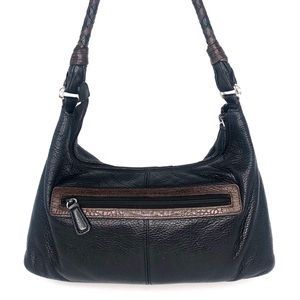 Brighton Bags - Brighton Black  Leather Shoulder Bag & Wallet